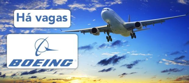 Vagas na Boeing em diversos países do mundo.