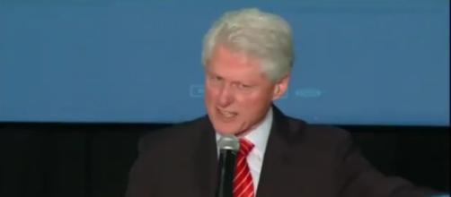 Bill Clinton on the trail, via YouTube