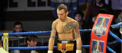La boxe in tv, nella foto Lenny Bottai