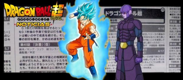 Goku y Hit los protagonistas de los proximos capitulos