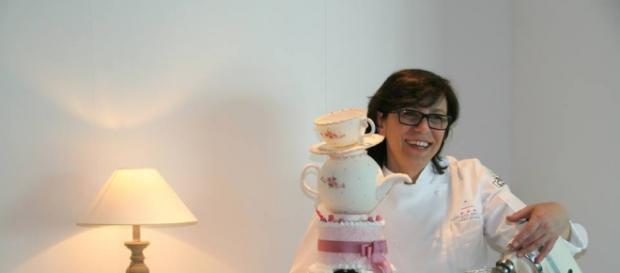 La nota cake designer Letizia Grella.