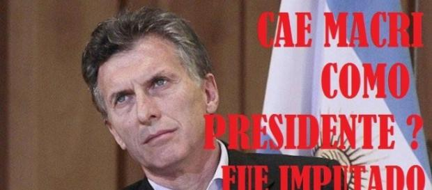 Macri imputado por los Panamá Papers
