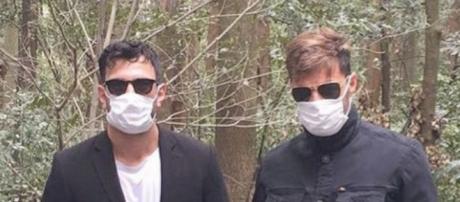 Ricky Martin junto a su nuevo novio
