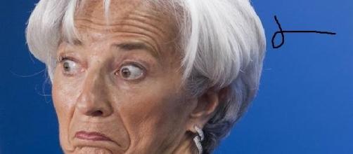 C. Lagarde, presidenta del FMI