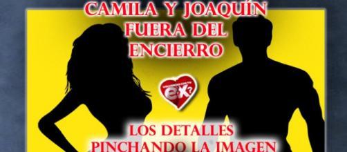 Camila y Joaquin fuera del encierro