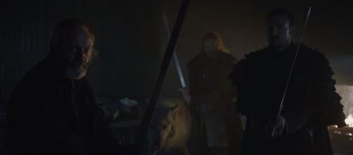 Una imagen de la escena con Davos y Fantasma