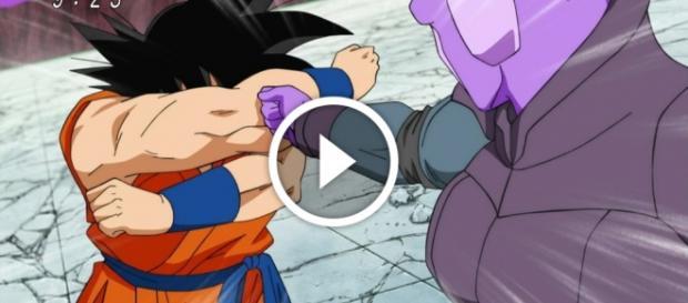 Goku vs Hit en Dragon Ball Super Nueva técnica de Goku