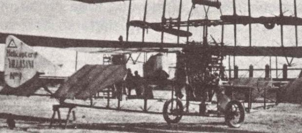 Helicoptero de Villasana de pricipios del siglo XX