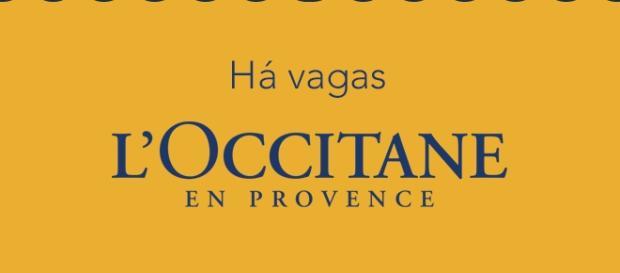 L´Occitane en Provence está selecionando profissionais.