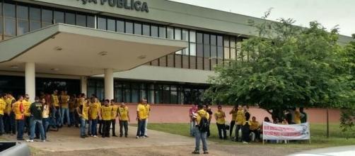 Delegados da Polícia Civil em greve