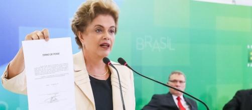Dilma é a primeira presidenta mulher do Brasil