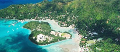 Panorámica general de la Isla de Mahé