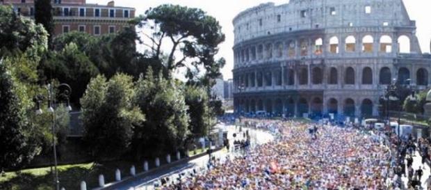 Blocco traffico auto e percorso maratona di Roma 2016