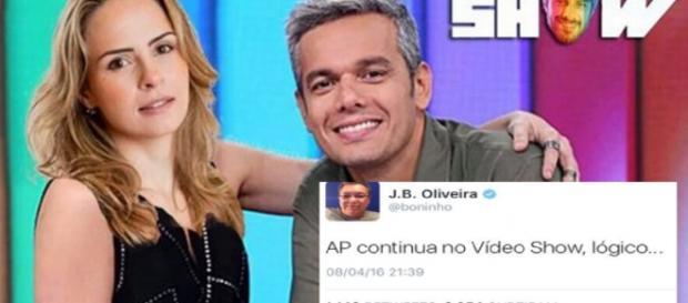 Boninho confirma Ana Paula no Vídeo Show