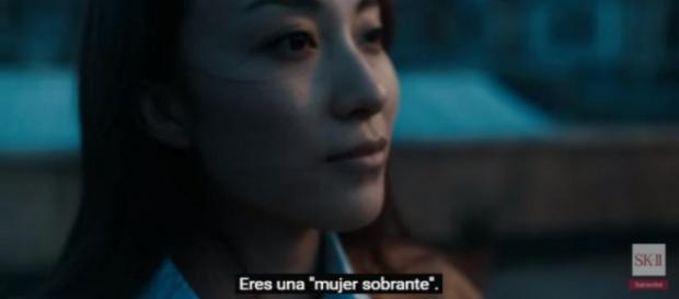 """Captura del corto de SK-II: """"eres una mujer sobrante"""""""
