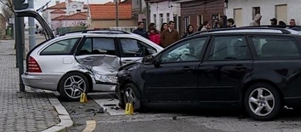 GNR investiga causas da violenta colisão