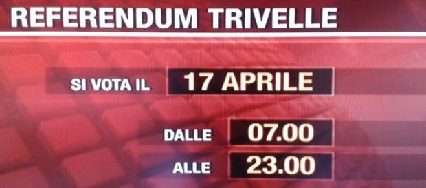 Il referendum del 17 aprile sulle concessioni allungate
