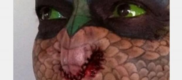 Transformações de Eva, a senhora dragão