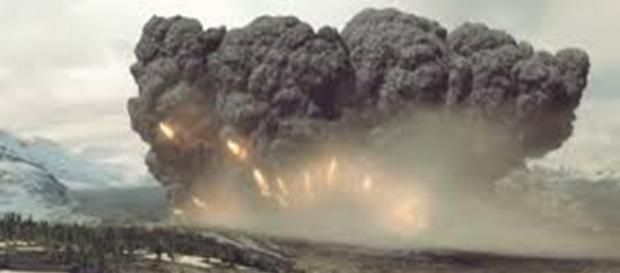 Wybuch superwulkanu - wyrok dla przeważającej części Ameryki Północnej