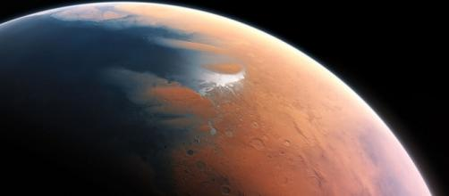 Impression of Mars four billion years ago (Flickr / European Southern Observatory)
