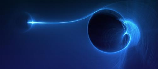 Wallpaper of a Black Hole impression (Flickr / Marek Koteluk)