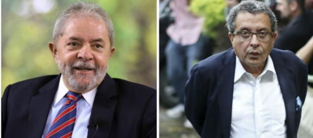 João Santana e Lula - Foto/Montagem