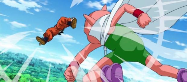 Monaca es Bills-sama de Dragon Ball Super