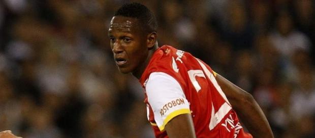 Yerry Mina será o zagueiro titular do time de Cuca