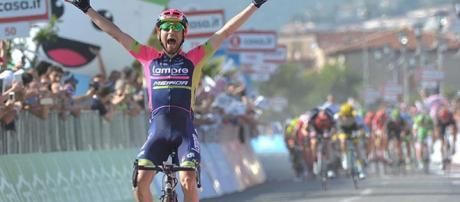 El italiano Diego Ulissi se adjudicó la cuarta etapa de la 99 edición del Giro de Italia