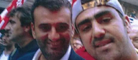Nella foto i volti dei due fermati di Bari