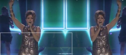 Barei interpreta su 'Say Yay!' en Eurovisión