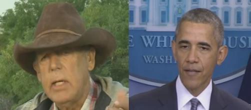 Cliven Bundy, President Obama, via YouTube