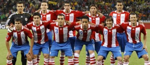 Elenco titular da Seleção do Paraguai