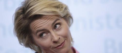 il Ministro della Difesa tedesco Ursula von der Leyen