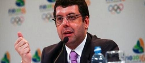 Ricardo Leyser em evento (Créditos: Divulgação/UOL)