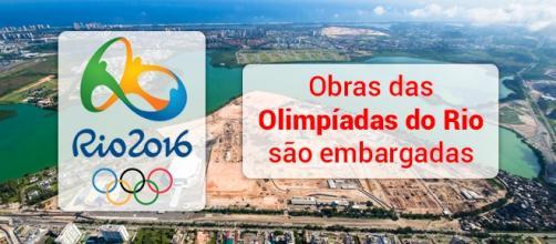 Rio 2016: obras são embargadas e interditadas - Foto: Reprodução Rio 2016