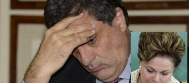 Cardozo e Dilma Rousseff - Foto/Montagem