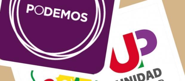 Cartel de Pdemos, Izquierda Unida y Unidad Popular