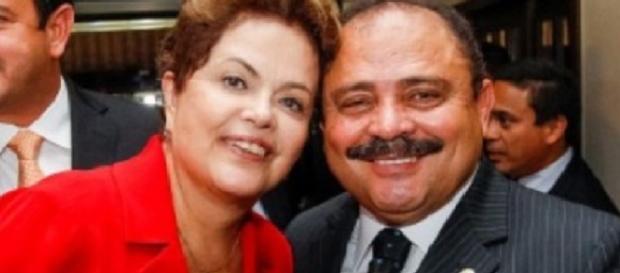 Waldir Maranhão e a presidente Dilma Rousseff