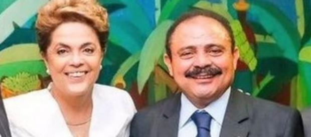 Dilma Rousseff e Waldir do Maranhão