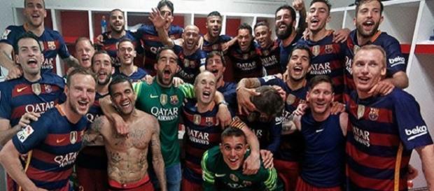 El F.C.Barcelona se proclama campeón de la Liga 15/16