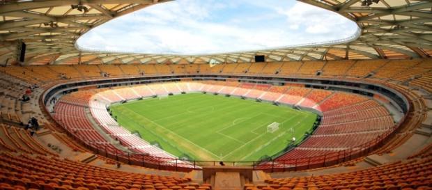 Foto/Divulgação: Portal da Copa - Governo do Brasil / Arena Amazônia.