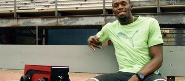 La marca Puma puso a disposición de sus atletas patrocinados el robot BeatBot