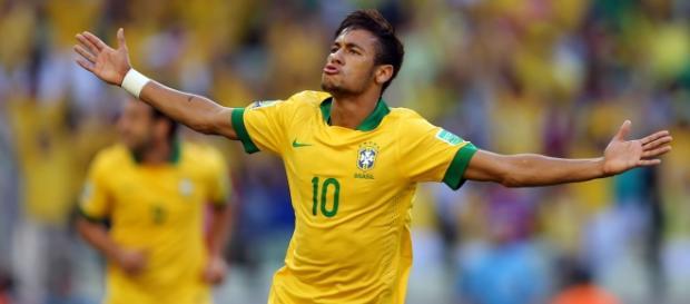 Neymar é a principal esperança de gols da seleção