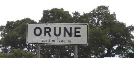Orune paese della provincia di Nuoro dove è stato ucciso un anno fa Gianluca Monni.