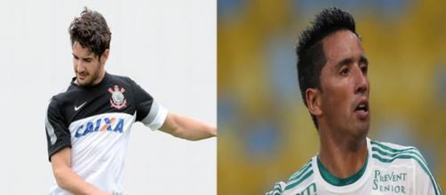 Alexandre Pato e Lucas Barrios não corresponderam o esperado em suas equipes