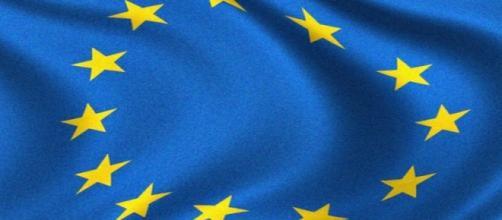 Bandera de la Unión Europea. Flickr