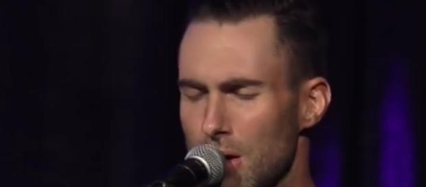 Adam Levine from an YouTube video