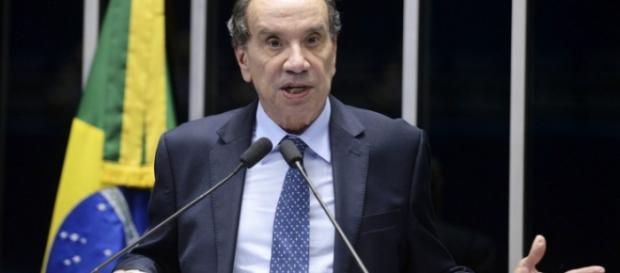 Aloysio Nunes é um dos representantes da oposição ao governo no Senado