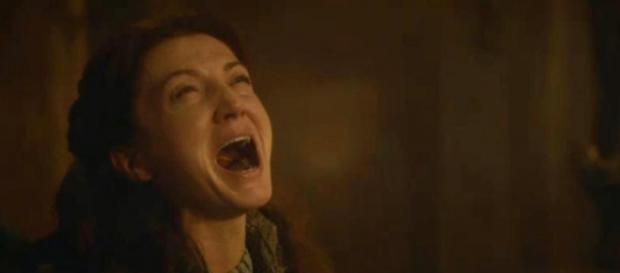 Catelyn Stark morreu na terceira temporada (Foto: HBO)